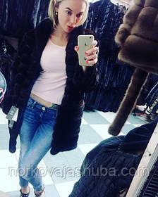 Шикарная норковая шуба 2016 – икона стиля современной девушки