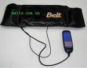 Массажный пояс  для похудения Вибро белт с нагревом Vibra belt