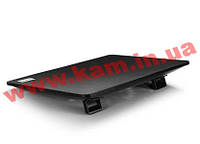 "Подставка кулер для ноутбуков до 15.6"" Deepcool металл. решетка, 1х18см вентилятор с кон (N1 Black)"