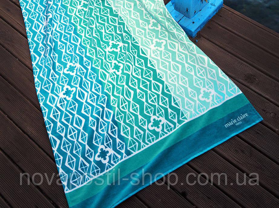 Пляжное полотенце Marie Claire Bresilia бирюзовое