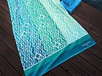 Пляжное полотенце Marie Claire Bresilia бирюзовое, фото 1