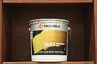 Лессирующая, водоразбавляемая, колеруемая, одноцветная лазурь Тайка от Tikkurila база KL(золотистый), 0,9 л