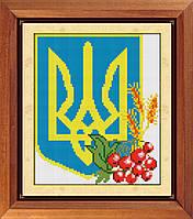 """Набор алмазной живописи """"Герб Украины"""""""