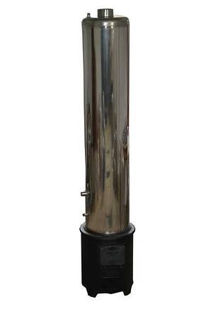 Бак из нержавейки для водонагревателя на твердом топливе 80 литров, фото 2