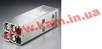 2U Двойной блок питания EMACS 500Вт (2х500Вт, R2W-6500P-R) с резервированием (1+1), (R2W-6500P/EPS)