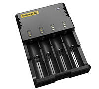 Зарядное устройство Nitecore Intellicharger i4 (универсальное, под любые Li-on/Ni-Mn аккумуляторы 750мАh)
