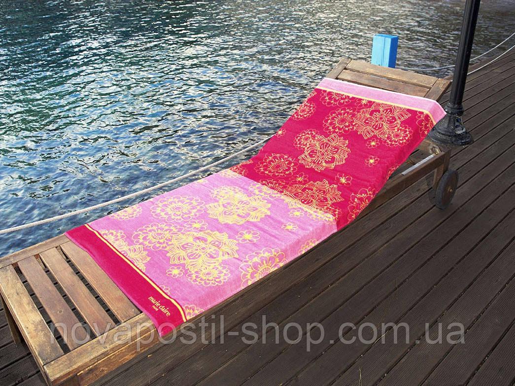 Пляжное полотенце Marie Claire SUZANO розовое
