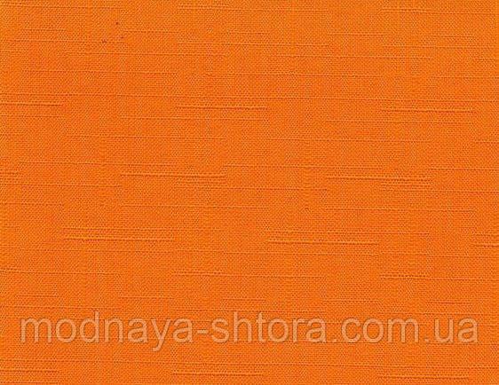 """Тканевые рулонные шторы """"Oasis"""" лен (джаффа), РАЗМЕР 52.5х170 см"""