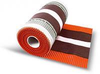 Коньковая вентиляционная лента  M ROUL 300Х5000 мм, цвет коричневый Wabis Польша