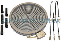 Электроконфорка (стеклокерамика) Ceika 481231018892, 2302032832 d=230mm 2100W