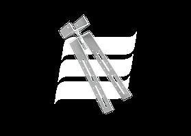 Крепления конькового бруса BL50/210 Wabis Польша (0132)