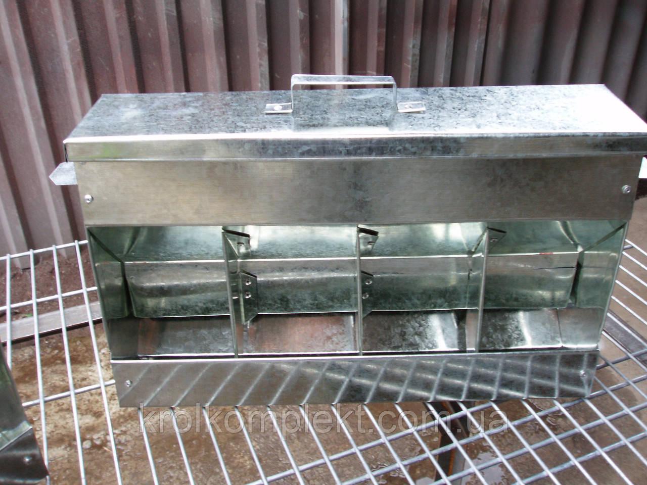 Бункерная кормушка для кролей