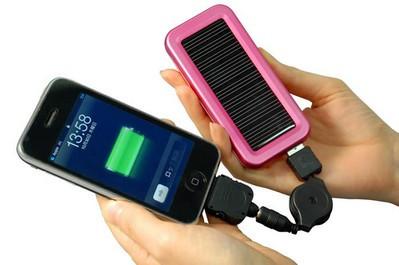 Универсальная зарядка на солнечной батарее