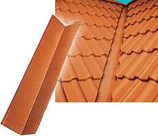Ендова поперечная/поперечная Alu 2000 мм, цвет коричневый Wabis Польша