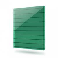 Сотовый поликарбонат  Vizor (Визор) 6 мм Голубой, зелёный,  красный, серый