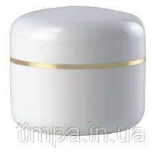 Баночка для косметолога белая (50 мл)