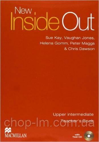 New Inside Out Upper-Intermediate Teacher's Book and Test CD (книга для учителя с тестами)