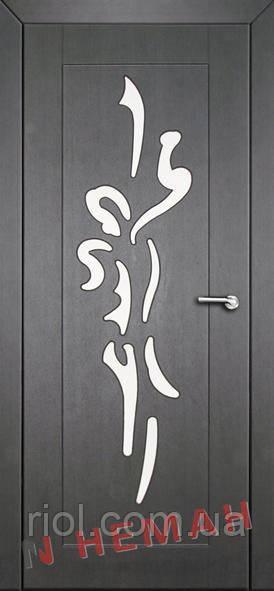 Дверь межкомнатная остекленная Балерина