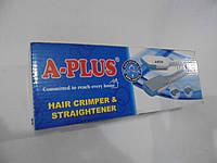 Утюжок A-Plus 1534,  А-плюс,утюжок для  волос, выпрямитель, красота и здоровье, а-плюс утюжок