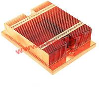 Улучшенный медный радиатор (ребра поперек креплений) в корпуса 1U для материнских (CPU-HS-K8R-MAPE)