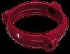 Хомут водосточной трубы Regenau D80 (бордовый)