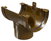Воронка водосточная Regenau D125/80 (коричневая)