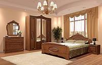 Спальня Катрин комплект 4Д орех патина   Світ Меблів