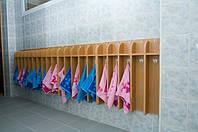 Вешалка для полотенец 5-секций 750*150*650
