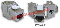 PL Модуль Keystone RJ-45 кат 5е STP экранированный 90 (105211010)