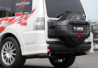 Спойлер заднего бампера AURA Mitsubishi Pajero 06+