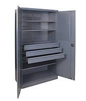 Шкаф инструментальный ШИ-10/3П/3В (ВхШхГ - 1970х1000х500)