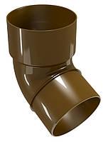 Колено водосточной трубы Regenau D80 (коричневое)