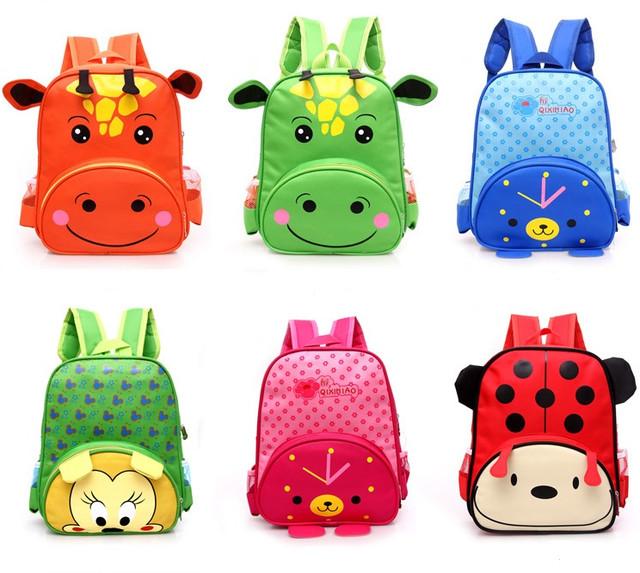 Детский рюкзак Веселые зверята