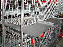 Клетки для кур несушек .(3 этажа).