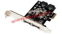 Контроллер STLab eSATAIII 6.0Gbps 2 канала (2вн.+2 внутр.) PCI-E (A-480)