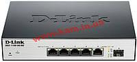 Коммутатор D-Link DGS-1100-06/ME 5port Gigabit, 1-SFP MetroEthernet (DGS-1100-06/ME)