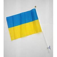 """Флаг Украины 14*21 нейлон """"Україна"""""""