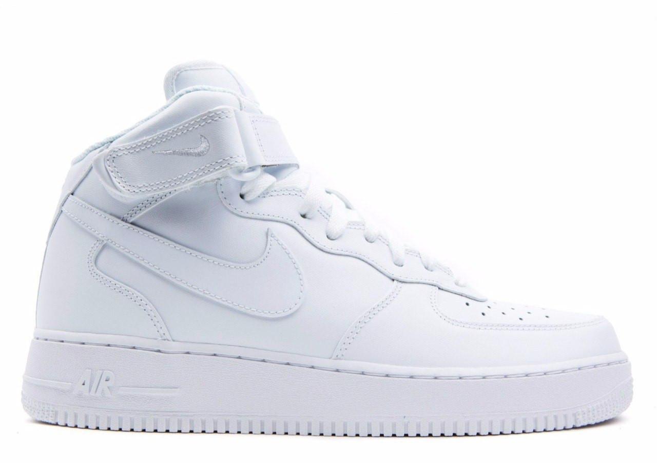 Зимние кроссовки на меху Nike Air Force 1 High