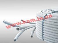ДКС Труба ПВХ гибкая гофр. д.16мм, лёгкая с протяжкой, цвет серый, 100м (91916)