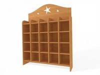 Шкаф для горшков 1450-350-1500
