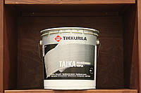 Лессирующая, водоразбавляемая, колеруемая, одноцветная лазурь Тайка от Tikkurila HL(серебристый) 0,9л