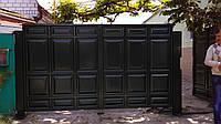 Изготовление и установка ворот. Гаражные, въездные, распашные,откатные, филёнчатые, металлопрофильные