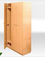 Шкаф для детского сада 3-х местный 1400*330*780