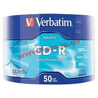 IT/ st VERBATIM CD-R 700Mb 52x Wrap 50 pcs 43787 (43787)