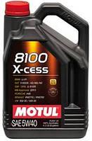 MOTUL 8100  X-cess 5W-40 4л моторное масло