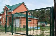 Производство распашных конструкций: ворота, калитки для забора, фото 1