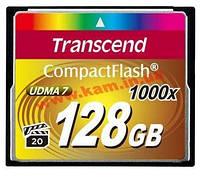 Карта памяти Transcend CF 128GB 1000х (TS128GCF1000)