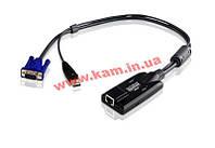 USB процессорный модуль, Удаленность до 150м через кабель Cat5 (KA7170)