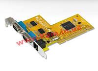 Плата расширения 2хRS232 и одним портом Cash Drawer с интерфейсом PCI. Контроллер SUNIX S (CDK1037A)