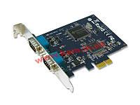 Промышленная 2-х портовая RS-422 / 485 плата расширения с интерфейсом PCI Express X1. (IPC-E2102)